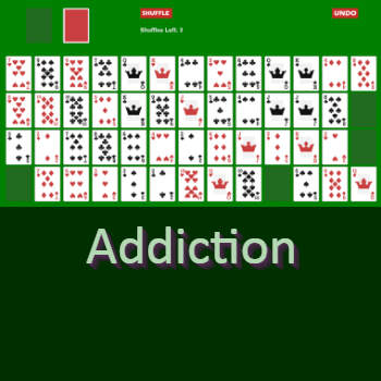 Play Addiction Solitaire Card Game