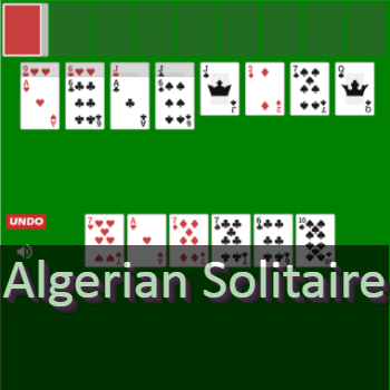 Play Algerian Solitaire Card Game