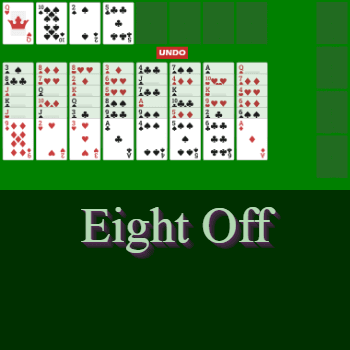 Play Eight Off Solitaire Card Game