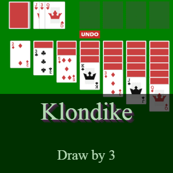 Play Klondike Solitaire (draw by 3) Card Game