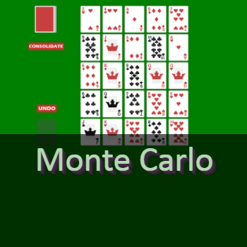 Play Monte Carlo Solitaire Card Game