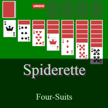 Play Spiderette Solitaire Card Game