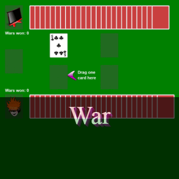 Play War Card Game